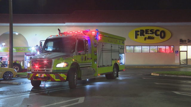 Machinery catches fire at Fresco y Mas grocery store