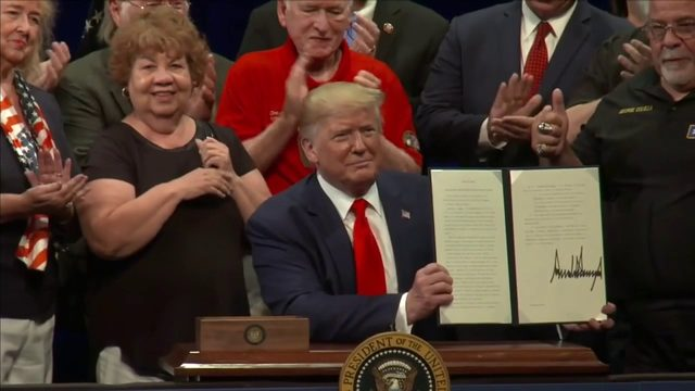 Trump signs Medicare executive order in The Village