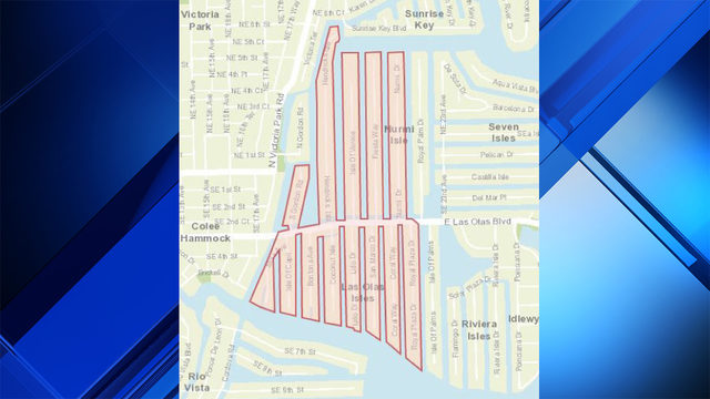 Boil water notice remains in effect for parts of Fort Lauderdale
