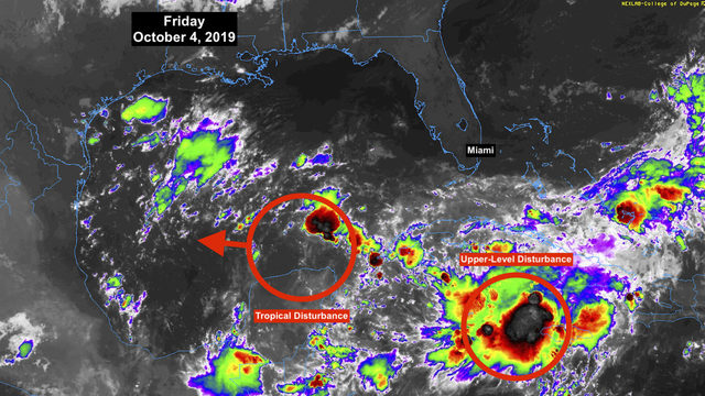 Mostly calm in the tropics as Gulf disturbance not expected to organize