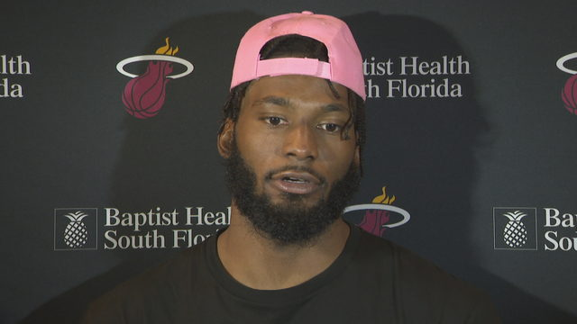Winslow shares personal nature of Heat's Red, White, & Pink game