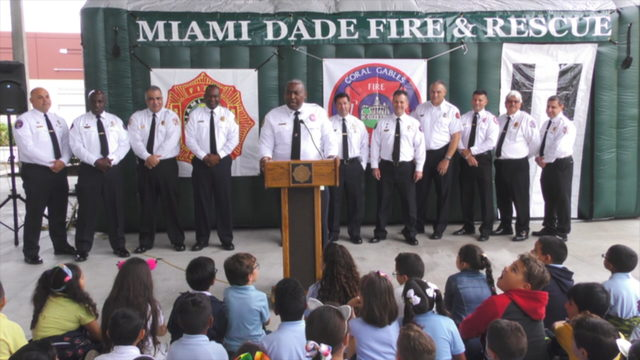 35th Annual Children's Fire Safety Festival begins in Doral