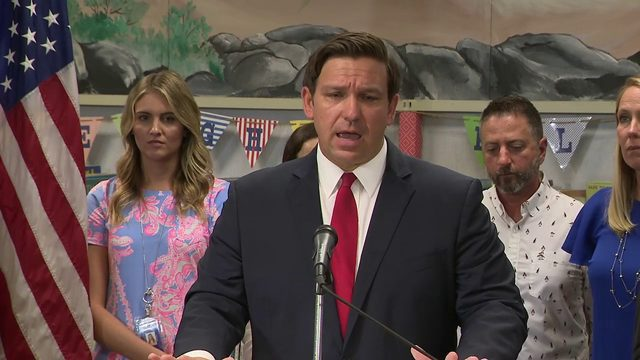 Governor DeSantis stands by decision of suspending Scott Israel