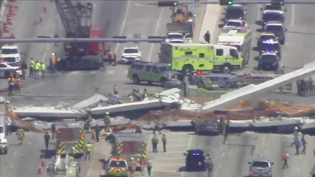 NTSB report indicates problems with FIU bridge were observed days before…