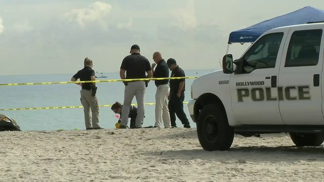 Police investigate after woman found dead on beach in Hollywood