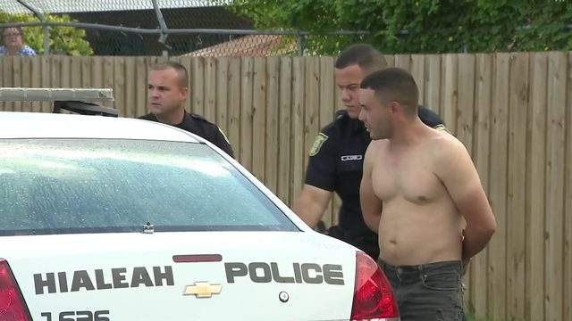 Armed witness intervenes in Hialeah domestic incident; shots fired