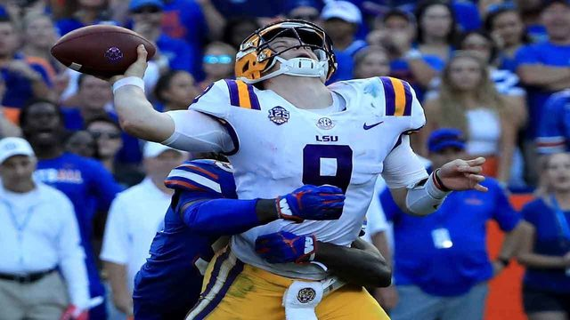 No. 5 LSU's high-octane attack awaits test vs. No. 7 Florida