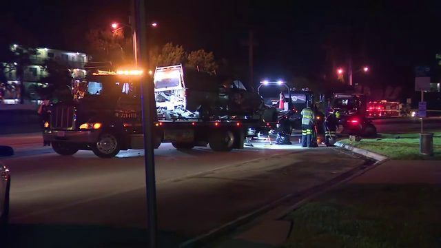 Police investigate fatal crash in Sunrise