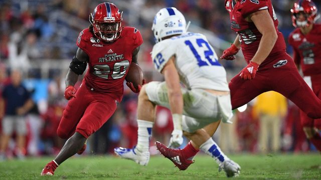 Florida Atlantic rallies past Middle Tennessee, wins 28-13
