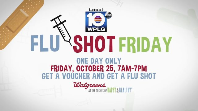 'Flu Shot Friday' returns in 2019
