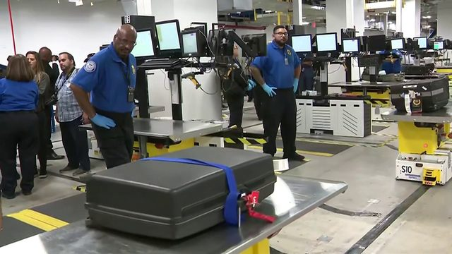Miami International Airport unveils new screening system