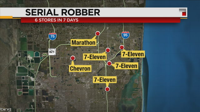 Feds announce arrest of Miami man suspected in multiple armed robberies