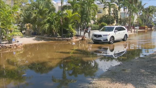Residents in Key Largo dealing with extreme flooding
