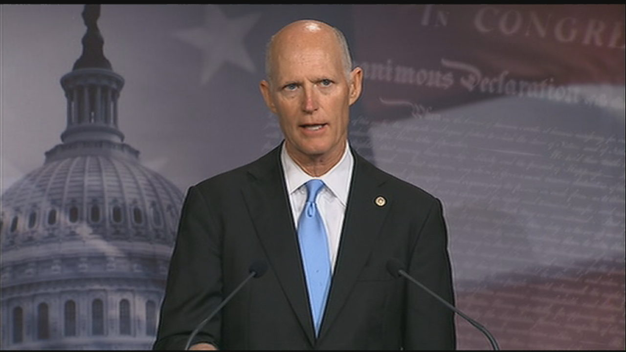 New bill from Senator Rick Scott looks to fix FBI tip line
