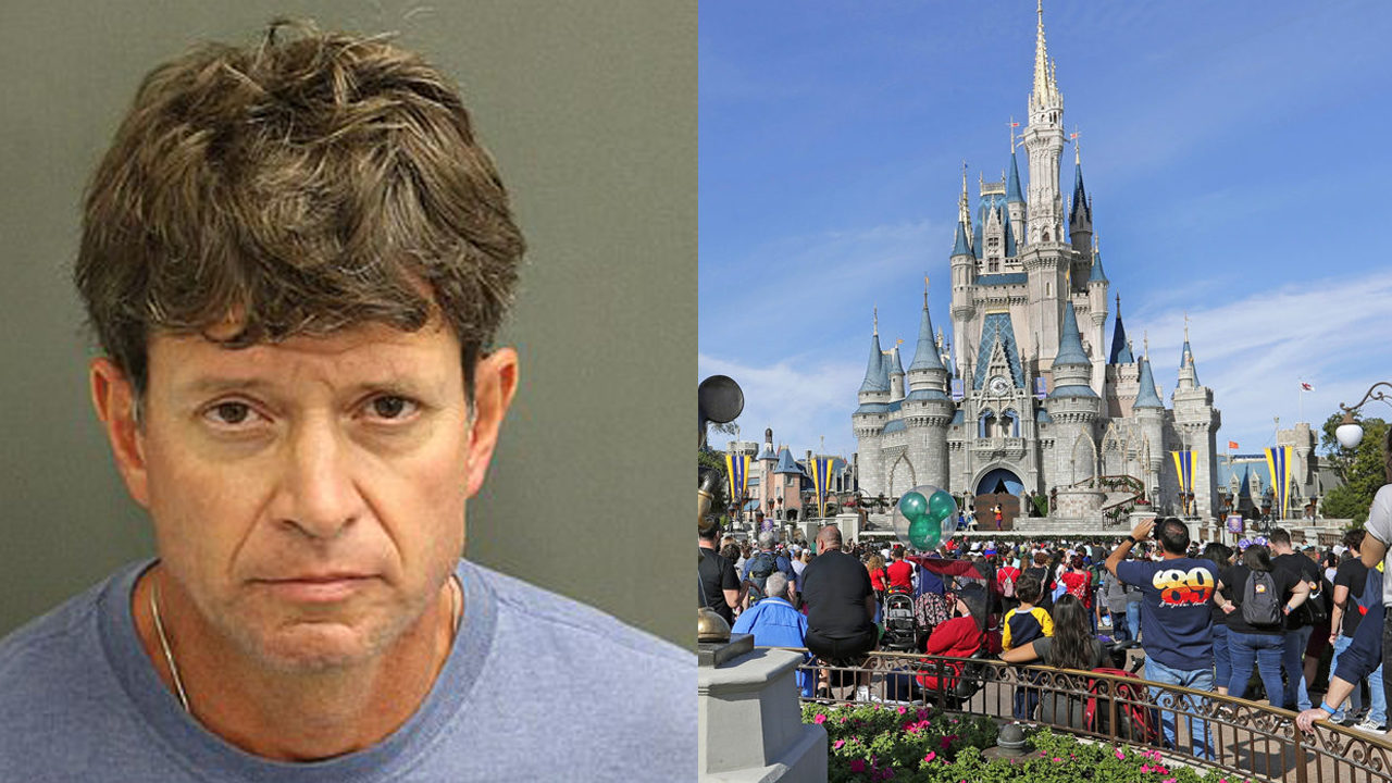 Florida man arrested on molestation charge at Disney park