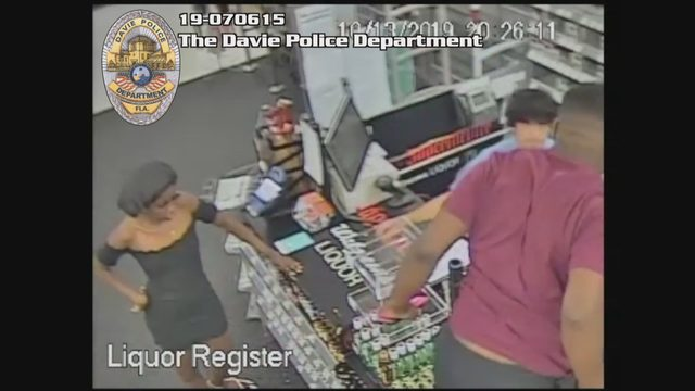 Thieves leap counter, assault clerk in liquor store robbery