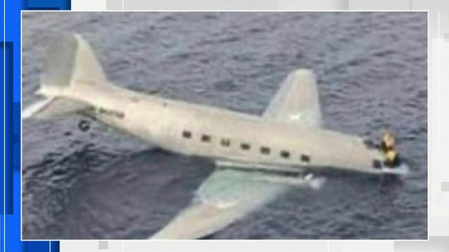 2 people rescued after cargo plane that left South Florida crashes near Bahamas