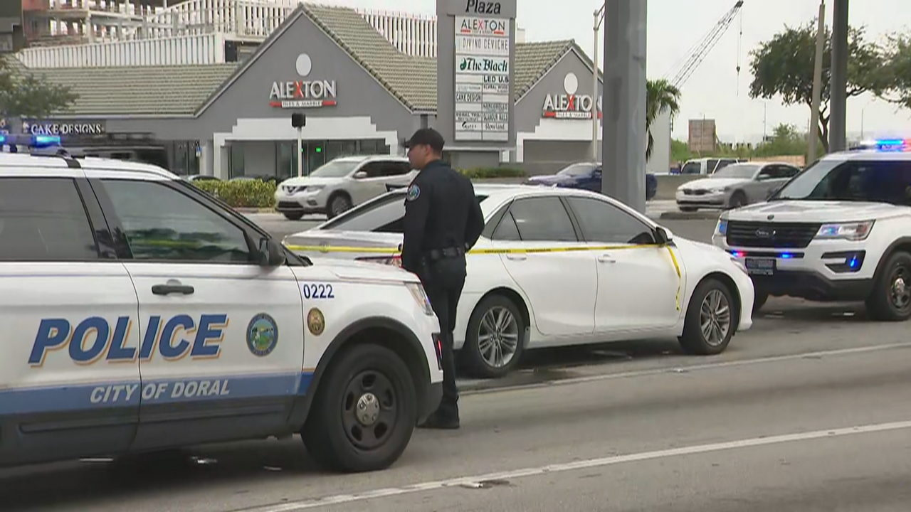 Shots fired in Doral after hit and run crash