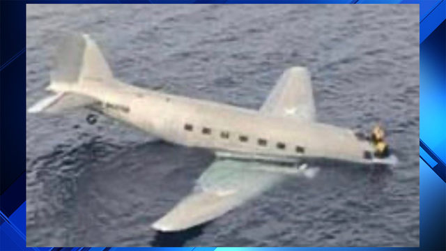2 rescued after cargo plane that left South Florida crashes near Bahamas