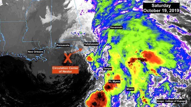 Florida feeling impact of Tropical Storm Nestor