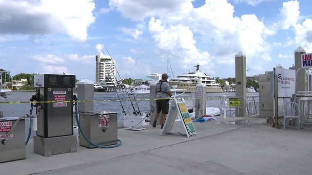 Boat explosion at Fort Lauderdale marina sends 4 people to hospital