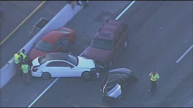 Fatal crash closes northbound lanes of Palmetto Expressway for hours