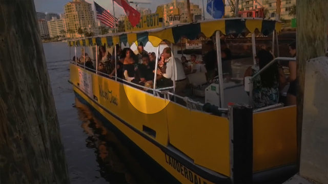Video shows man allegedly assaulting woman on Fort Lauderdale Water Taxi