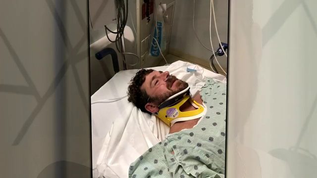Jogger struck by car, driver offers critical aide