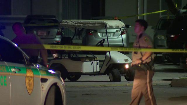 Security guard shot at Goulds apartment complex