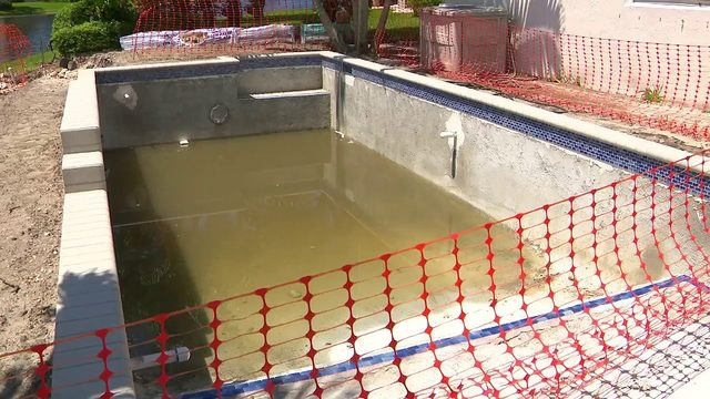 Dozens of homeowners pay for pools that remain unfinished