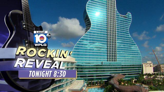 Local 10's Rockin' Reveal airs Wednesday at 8 p.m.