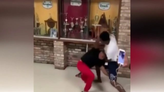 Student in bloody high school fight appears in court