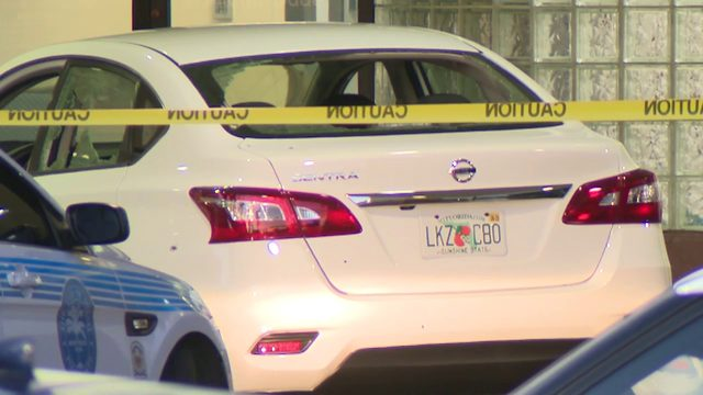 Gunshot victims drive car with bullet holes, shattered windows to hospital door