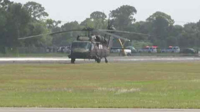 Plane crashes at Stuart Air Show