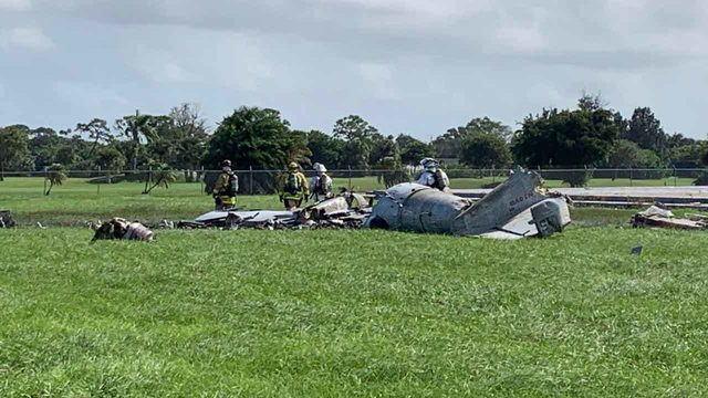 1 dead in plane crash at Stuart Air Show