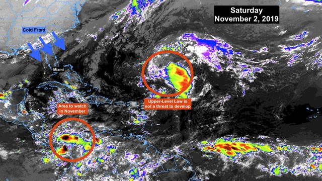 Tropics quiet as hurricane season begins winding down
