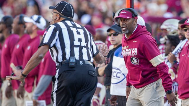 Florida State fires head coach Willie Taggart day after loss to Miami