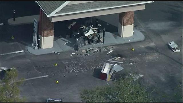FBI investigates explosion at drive-thru ATM in Florida