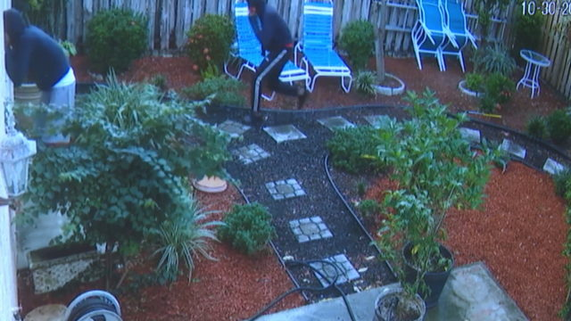 Brazen criminals caught trying to break into Coconut Creek home