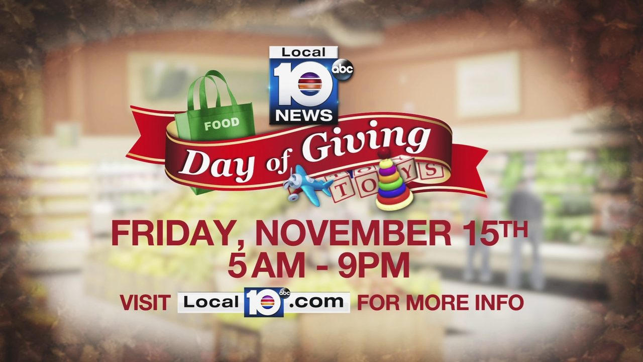 Local 10's 'Day of Giving' returns to South Florida