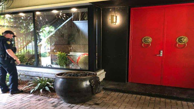 Police investigate vandalism at Asian restaurant