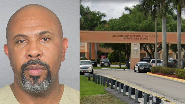 Broward high school principal arrested for domestic violence
