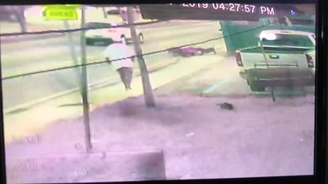 Surveillance video shows Miami man mauled by dogs