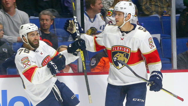 Panthers call up Dominic Toninato for important role as fourth line center