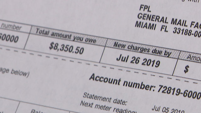 Family has power cut off before being handed bill for nearly $12K
