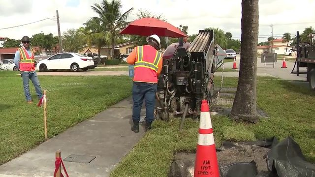 FPL begins moving power lines underground in Hialeah