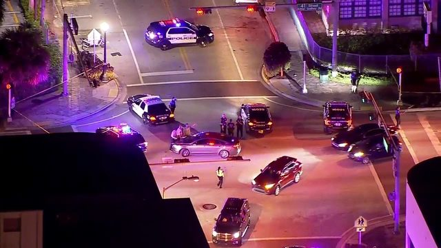 Police respond to call of shots fired in Miami Beach