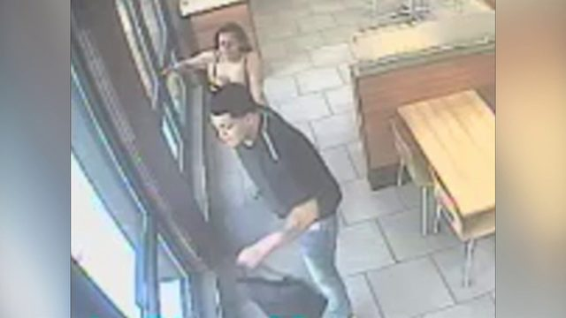 Abduction at Wendy's caught on camera
