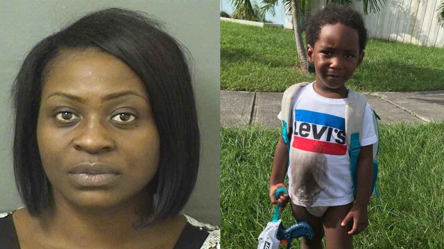 Mother arrested after 2-year-old boy found wandering near West Palm Beach