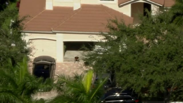 ICE agents execute search warrant on Weston home